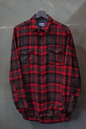 60's Pendleton - Virgin Wool - Made in U.S.A. (M-L)