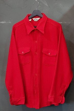 70's Woolrich - Wool - Made in U.S.A. (XL)